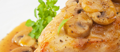 Chicken Marsala • Joy of Food • Delivery Dinner