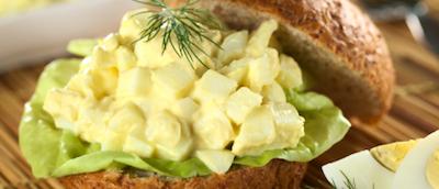 Egg Salad Sandwich • Joy of Food • Kosher Lunch