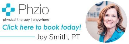 Joy Smith photo and Phzio logo