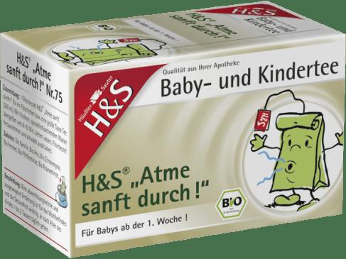 H&S 嬰兒兒童呼吸順暢保健茶Nr.75 (20小包)