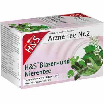 H&S 膀胱尿道保健茶Nr. 2 (20小包)