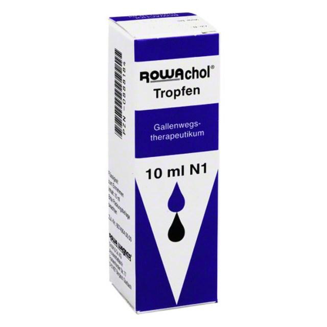 德國樂活可Rowachol 排溶石肝膽 輔助膽管 結石消膠囊/滴劑10ML