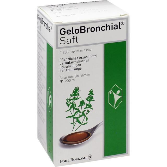 Gelobronchial祛痰治療支氣管炎200ml