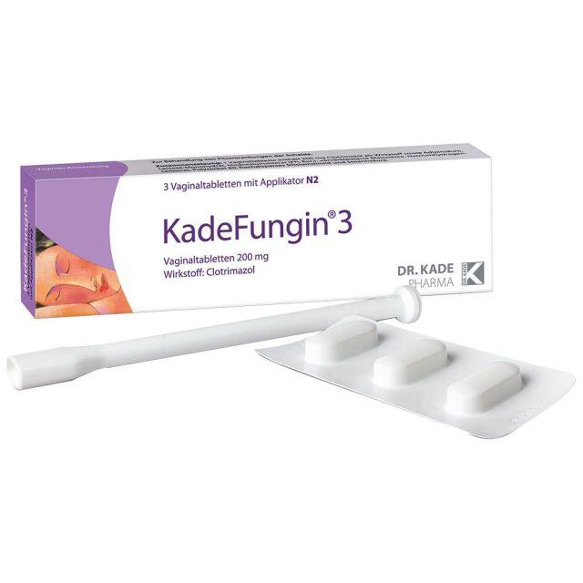 德國KadeFungin 乳酸療養細菌性陰道片 -非常有效