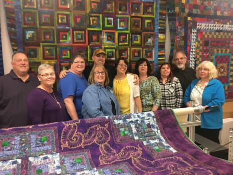 All of us! Rich, Jennie, Joyce,LynnEl, Jamie, Terrie, me, Donna, Patrick and Sharon