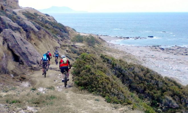 Mountain biking Crete