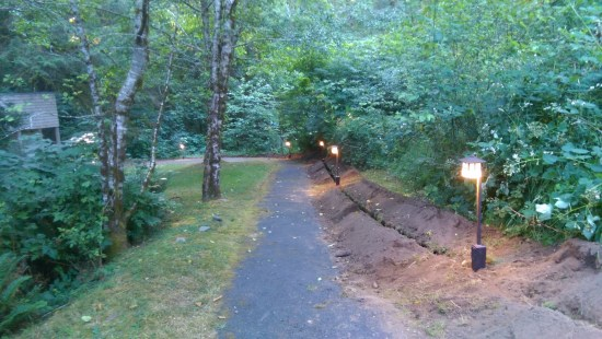 Caring Cabin - Lighting Down the Path - Under Construction