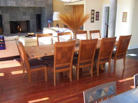 Caring Cabin - Old Kitchen Table