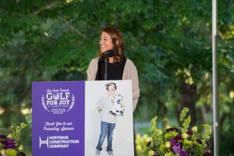 Golf for Joy - Speaker Regina Ellis