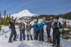 Snowshoeing Mt Hood NatureRx