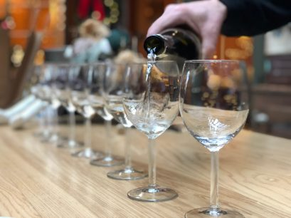 Pouring flight