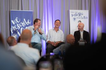 MLB All-Star Pitcher, Roger Clemens; former NFL Quarterback, Drew Bledsoe; and ESPN Sportscaster, Sean McDonough
