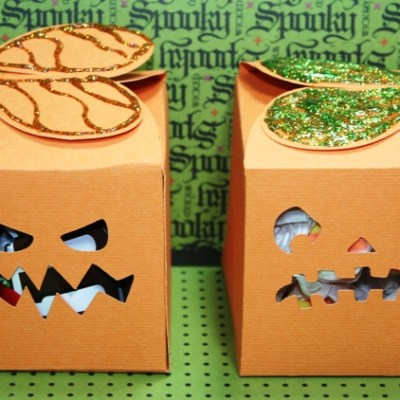 Cricut Halloween Treat Boxes Using 12×24 Mat – GIVE AWAY