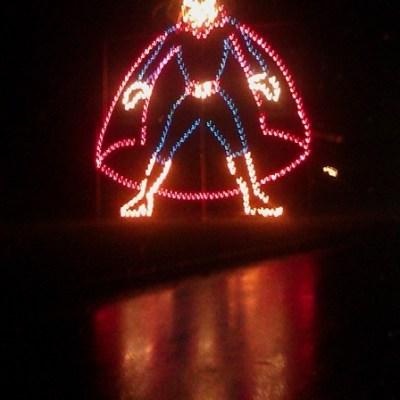 Family Night Halloween Lights + ANNOUNCEMENT