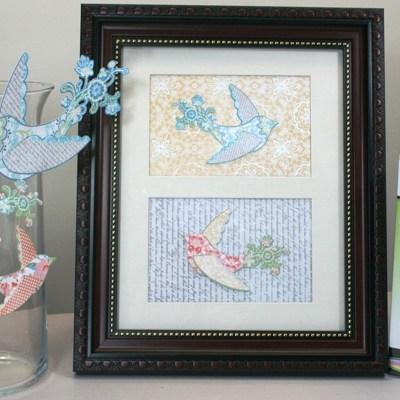 Cricut Imagine Photo Frame Bird Gift and Imagine Nation Monday