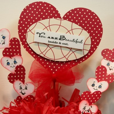 Peachy Keen Guest Designer Valentine Holder from Tissue Box – Give Away