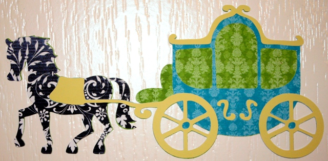 Happily Ever After Blog Hop - Cricut Imagine Printed Vinyl Horse ... 6affcd154