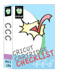 Cricut Cartridge Checklist UPDATED & Discontinued Cricut Cartridges List UPDATED