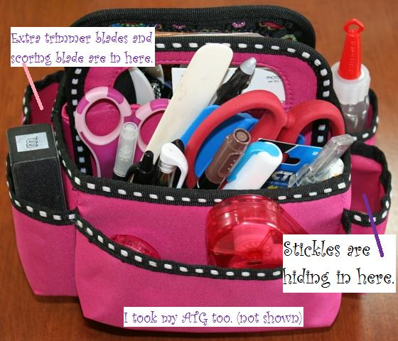 What To Take To A Crop Or Scrapbooking And Crafty Classes Joys Life
