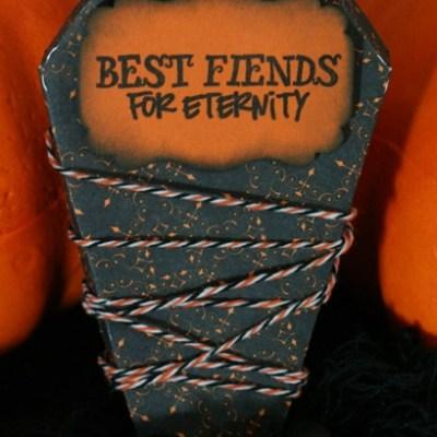Cricut Life's a Party Spooky Halloween Treat Coffin