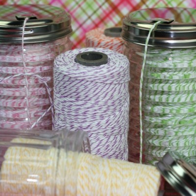 Inexpensive Sugar Dispenser As Twine Container