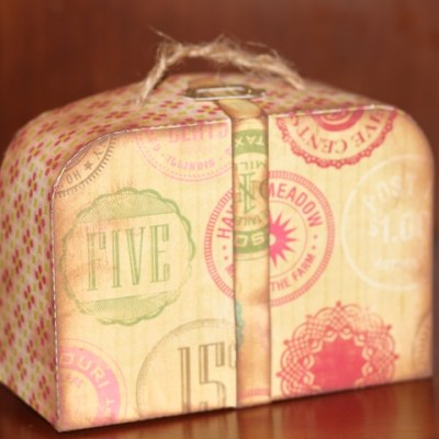 3D Suitcase Party Favor – Lori Whitlock Design Team Post