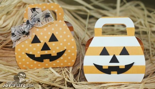 Halloween Pumpkin Box Treat Holders Lori Whitlock Design