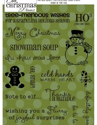 "NEW! ""Oh Christmas Puns"" Stamps – Just Announced!"