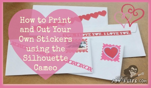 How to print cut stickers with silhouette cameo lori whitlock design team post