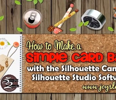 52: Episode 8: How to Make a Simple Card Base with Silhouette Cameo Software