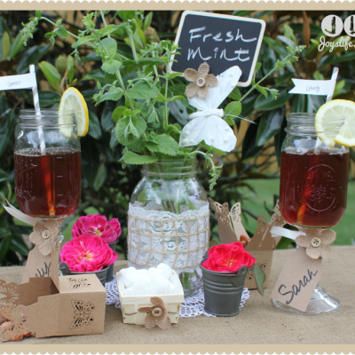 Summer Tea Party with David Tutera Casual Elegance Products