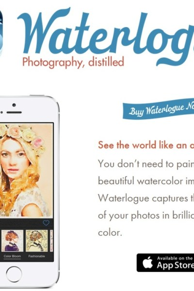 The Waterlogue App is Awesome – Here's What It Does