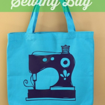 Heat Transfer Vinyl Sewing Bag