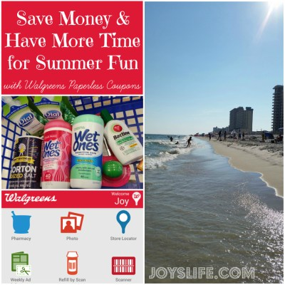Save Money and Have More Time for Summer Fun with Walgreens Paperless Coupons
