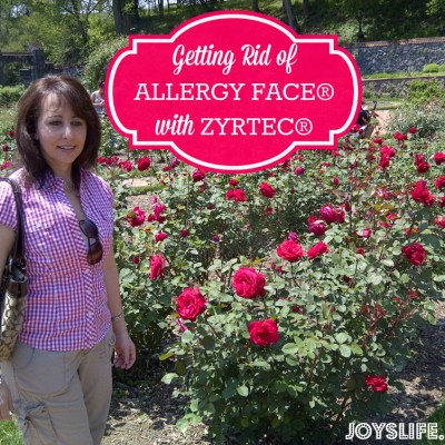 Getting Rid of Allergy Face with Makeup Tips and Zyrtec