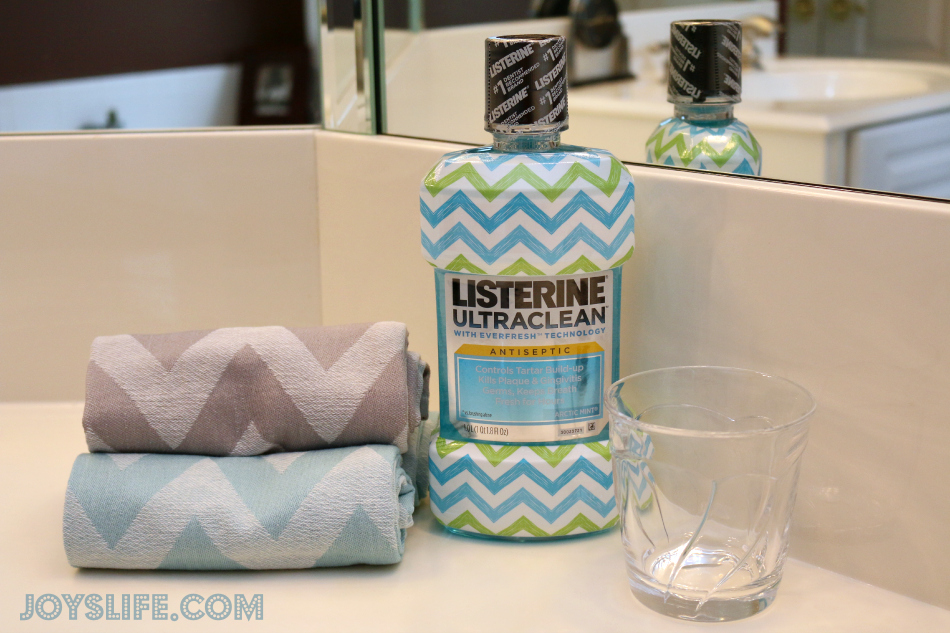How Cute! Exclusive Chevron Listerine Bottles #listerine #target