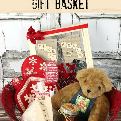 Sweet & Delicious Honey and Biscuits Gift Basket Idea
