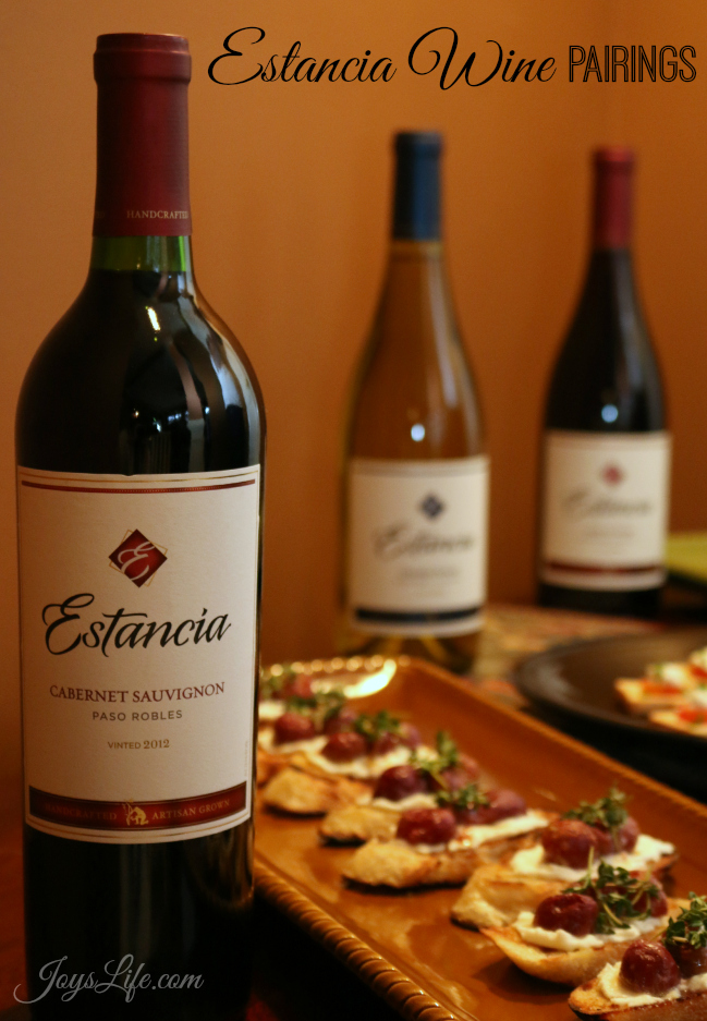 msg 4 21+  Estancia Wine Pairings #ArtOfEntertaining #Ad