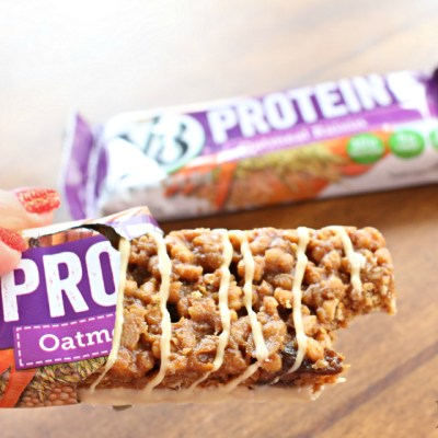 Keeping the Energy Up with V8 Protein Bars & Shakes