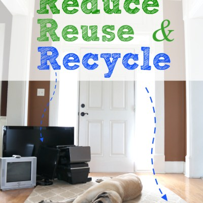 5 Easy Ways to Reduce, Reuse & Recycle