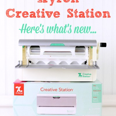 The New Xyron Creative Station – What's New