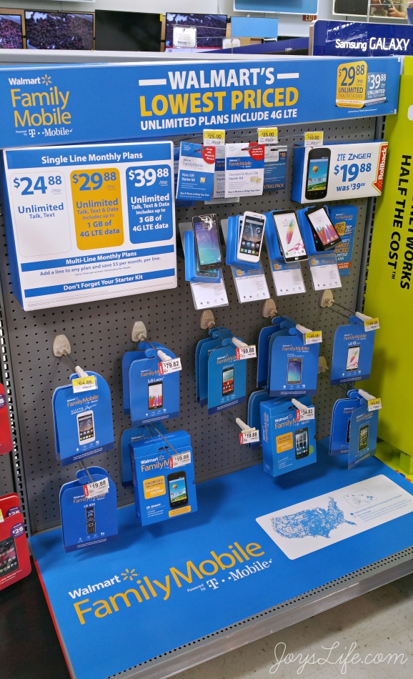How Walmart Best Plans Made One More Thing - Easier #JustACallAway #FamilyMobile #ad