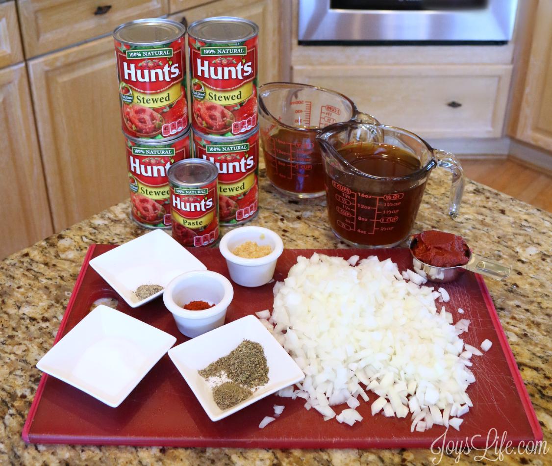 Quick Homemade Tomato Soup & Cheesy Texas Toast MANWICH #YesYouCAN #ad