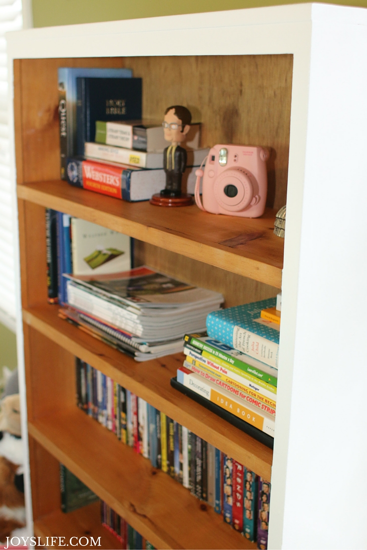 Bookcase makeover