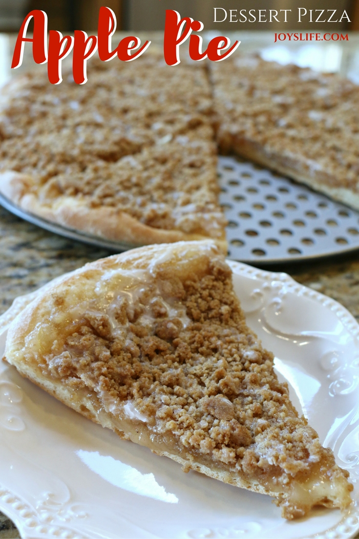 Apple Pie Dessert Pizza
