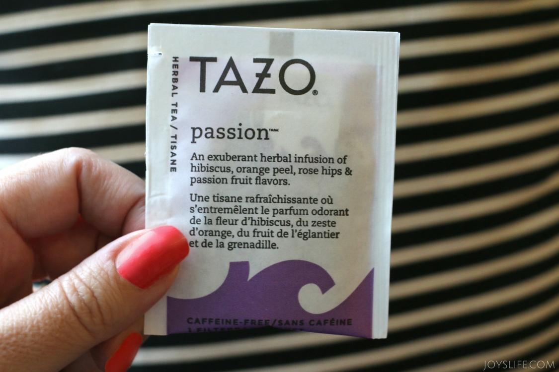 Tazo Passion pouch