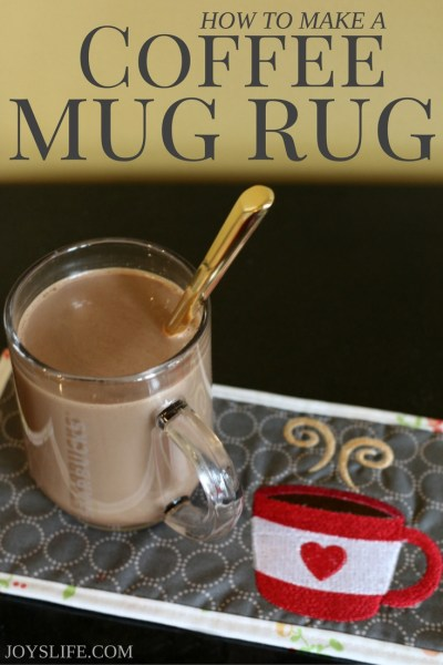 How to Make a Coffee Mug Rug