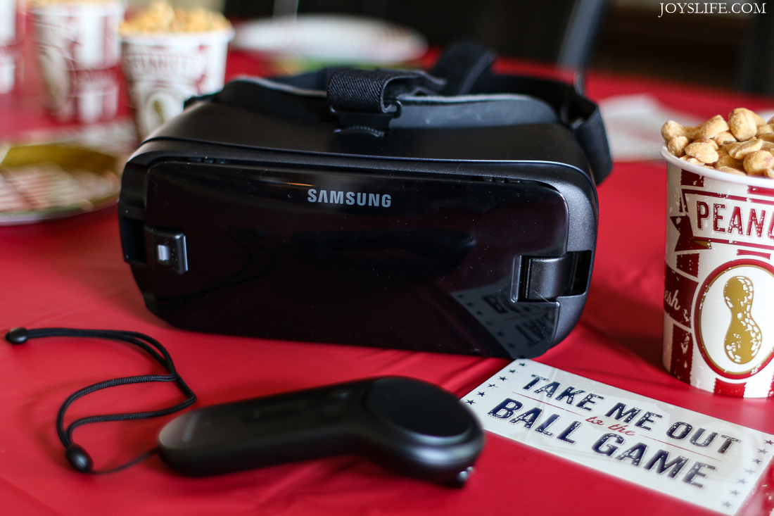 Samsung Gear VR Controller Baseball party
