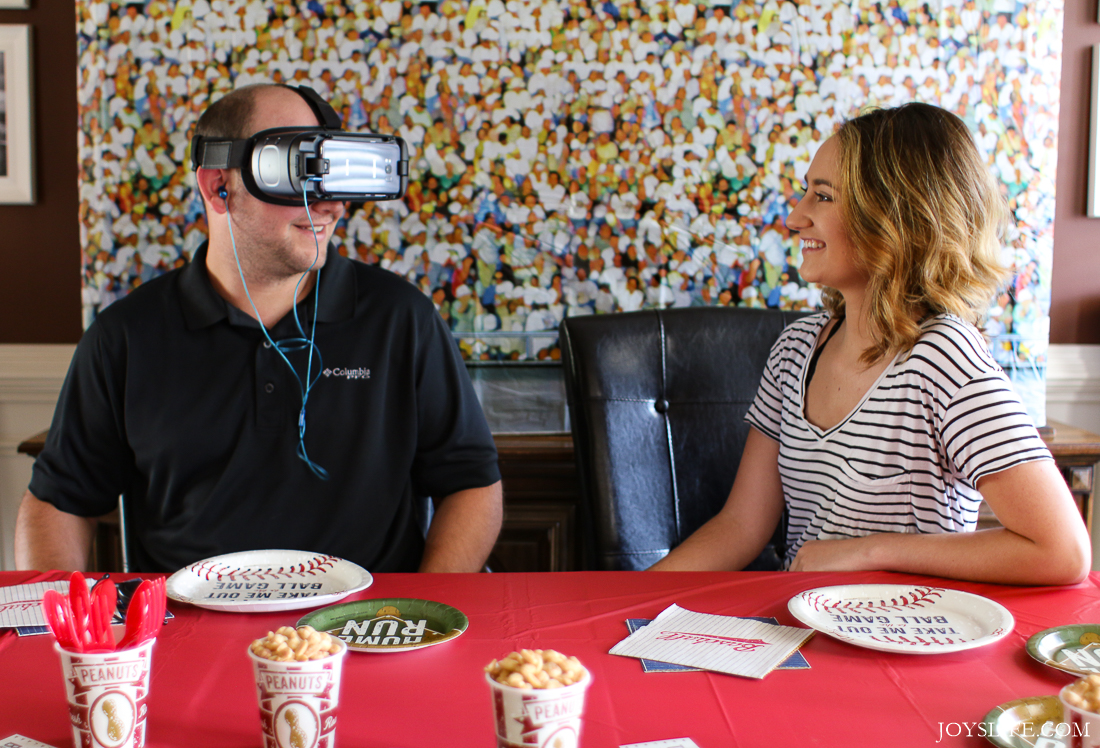 Samsung Gear VR Baseball party friends