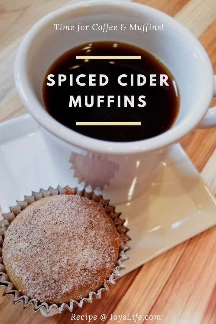 spiced cider muffin recipe